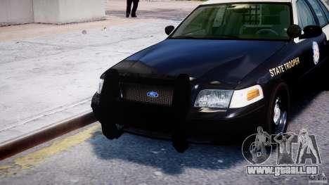 Ford Crown Victoria Fl Highway Patrol Units ELS für GTA 4 Innen