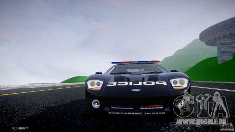 Ford GT1000 Hennessey Police 2006 [EPM][ELS] pour GTA 4