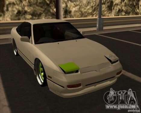 Nissan 180SX JDM für GTA San Andreas Innenansicht