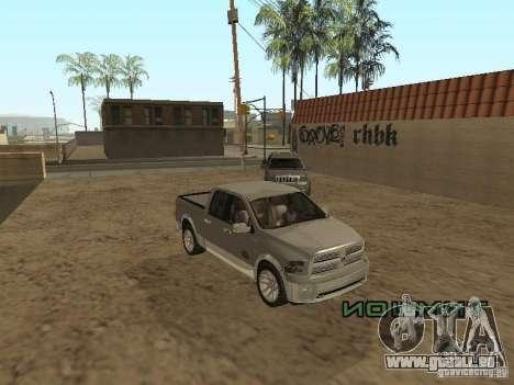 Dodge Ram für GTA San Andreas Rückansicht