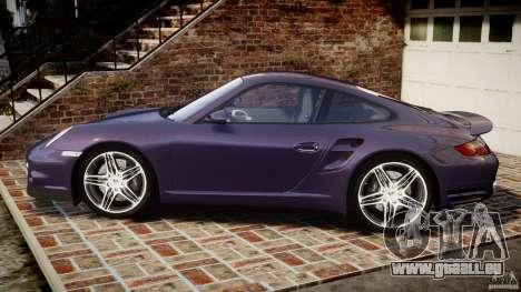 Porsche 911 (997) Turbo v1.1 [EPM] pour GTA 4 est une gauche