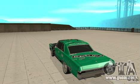 Pontiac GTO 1965 Speed King-NFS Pro Street für GTA San Andreas rechten Ansicht