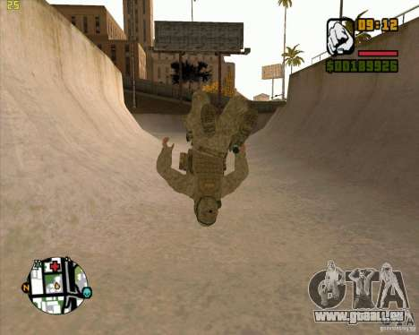 Parkour discipline beta 2 (full update by ACiD) für GTA San Andreas her Screenshot