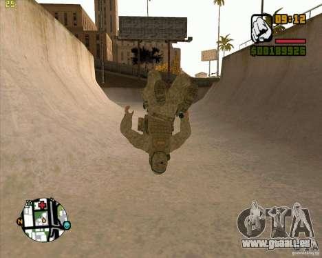 Parkour discipline beta 2 (full update by ACiD) für GTA San Andreas her Screenshot