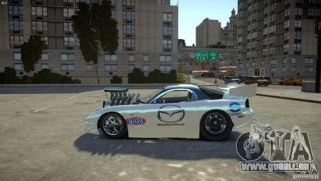 Mazda rx7 Dragster für GTA 4 linke Ansicht
