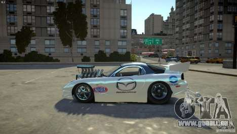 Mazda rx7 Dragster pour GTA 4 est une gauche