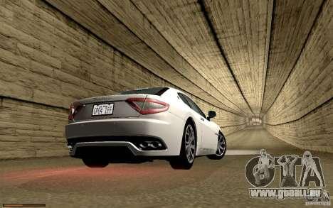 Maserati Gran Turismo 2008 für GTA San Andreas Innen