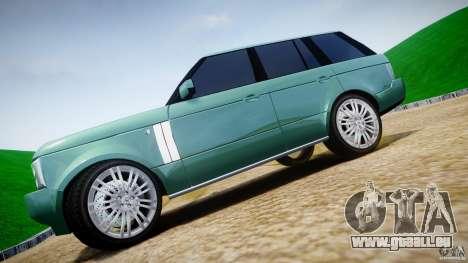 Range Rover Vogue für GTA 4 obere Ansicht