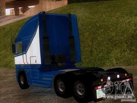 Freightliner Argosy Skin 1 pour GTA San Andreas sur la vue arrière gauche