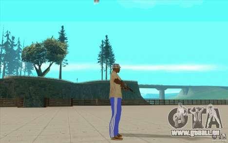 Pantalon adidas pour GTA San Andreas troisième écran