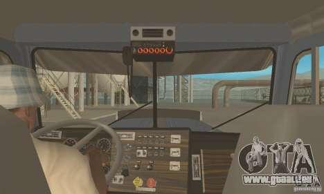 Peterbilt 379 Custom And Tanker Trailer pour GTA San Andreas vue de droite