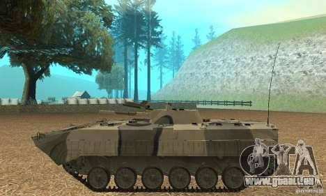 BMP-1 Camo für GTA San Andreas linke Ansicht