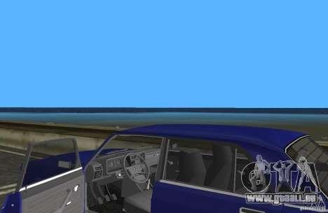 VAZ 2107 LADA Auto für GTA Vice City Innenansicht