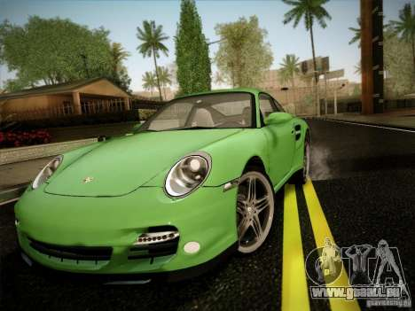 Porsche 911 (997) turbo für GTA San Andreas