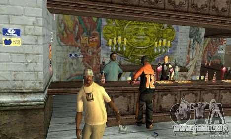 Drunk mod pour GTA San Andreas troisième écran