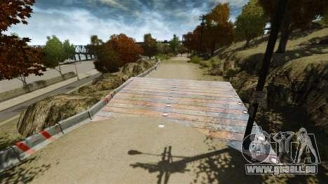 Piste de rallye pour GTA 4 troisième écran