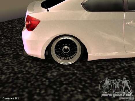 Toyota Scion für GTA San Andreas Rückansicht