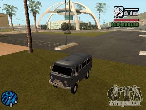 UAZ 2206 BPAN für GTA San Andreas zurück linke Ansicht