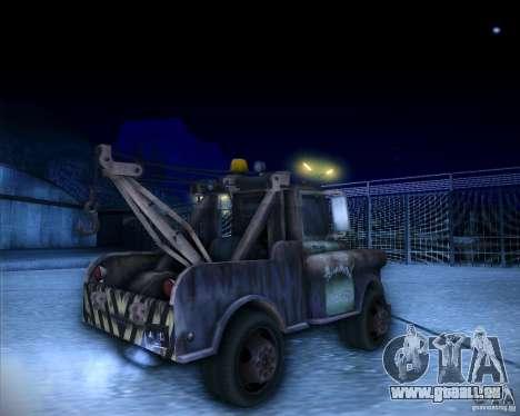 Car Mater für GTA San Andreas zurück linke Ansicht