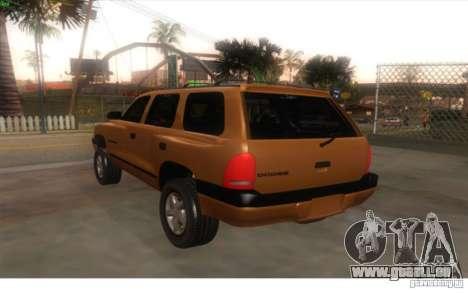 Dodge Durango 1998 für GTA San Andreas linke Ansicht