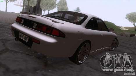 Nissan Silvia S14 Kouki pour GTA San Andreas laissé vue