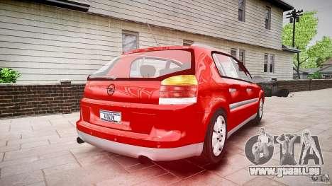 Opel Signum 1.9 CDTi 2005 pour GTA 4 est une vue de l'intérieur