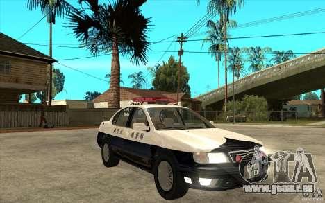 Nissan Cefiro A32 Kouki Japanese PoliceCar für GTA San Andreas obere Ansicht