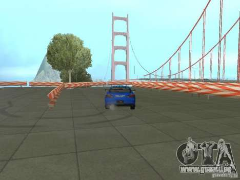 New Drift Track SF pour GTA San Andreas sixième écran