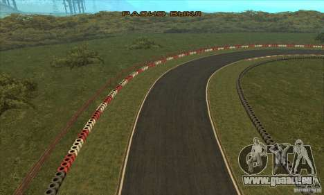 Piste GOKART Route 2 pour GTA San Andreas douzième écran