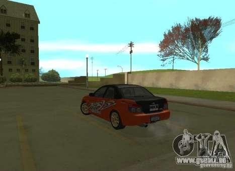 Subaru Impreza WRX STI-Street Racing für GTA San Andreas