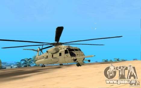 CH 53E für GTA San Andreas rechten Ansicht