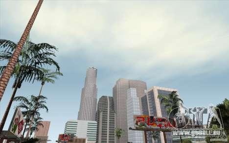 Timecyc Los Angeles pour GTA San Andreas deuxième écran