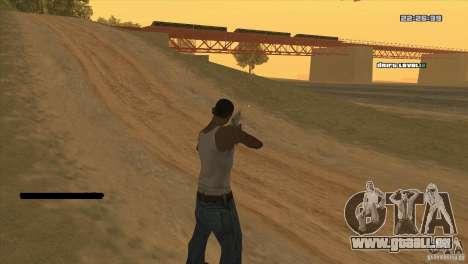Le point au lieu de la vue pour GTA San Andreas