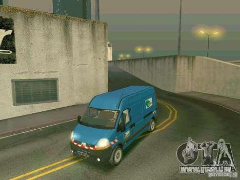 Renault Master pour GTA San Andreas laissé vue
