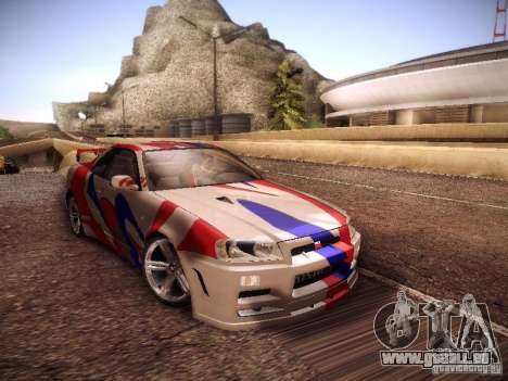 Nissan Skyline full tune pour GTA San Andreas