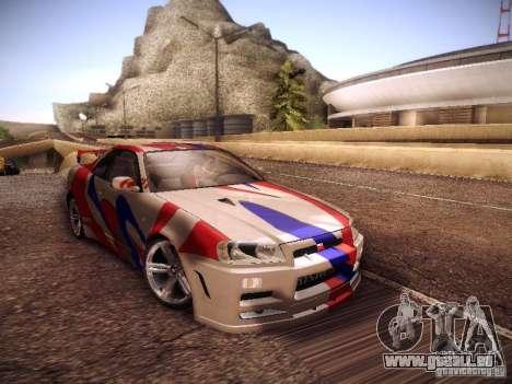 Nissan Skyline full tune pour GTA San Andreas