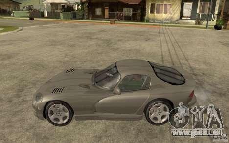 Dodge Viper GTS pour GTA San Andreas laissé vue