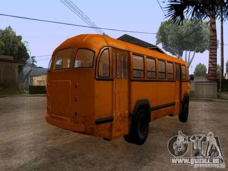 LIAZ 158 pour GTA San Andreas laissé vue