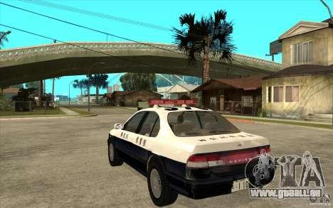 Nissan Cefiro A32 Kouki Japanese PoliceCar für GTA San Andreas Innenansicht