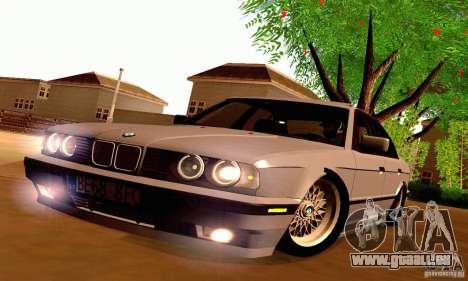 BMW E34 525i für GTA San Andreas Innenansicht