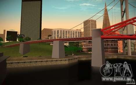 HD Red Bridge pour GTA San Andreas deuxième écran