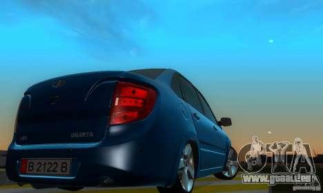 Lada Granta Light Tuning pour GTA San Andreas vue de droite