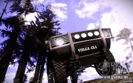 GAZ 2402 4 x 4 PickUp für GTA San Andreas Innen