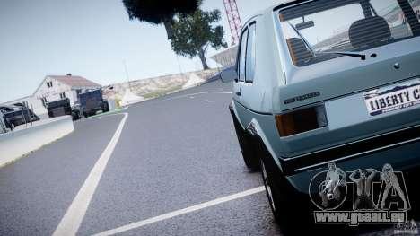 Volkswagen Golf Mk1 pour GTA 4 est un côté