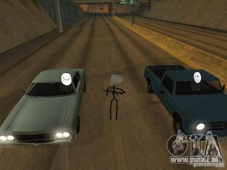 Meme Ivasion Mod für GTA San Andreas elften Screenshot