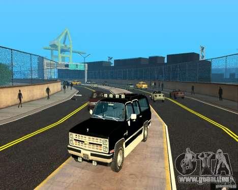 Сhevrolet 1986-Suburban für GTA San Andreas