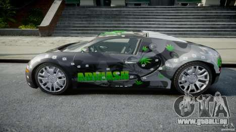 Bugatti Veyron 16.4 v1.0 new skin pour GTA 4 est une gauche
