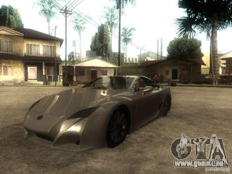 Lexus LFA Custom pour GTA San Andreas