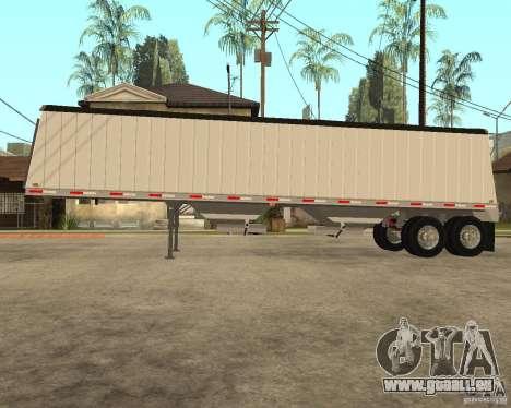 Semi Artict3 pour GTA San Andreas laissé vue