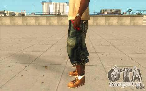 The BIG Makaveli Short Jeans für GTA San Andreas zweiten Screenshot